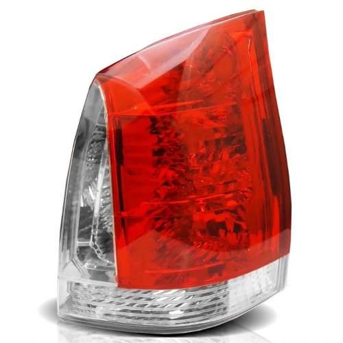 Lanterna Traseira Palio Flex 04 a 08 Bicolor  - Amd Auto Peças