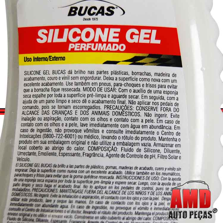 Gel Silicone Limpa Limpeza Painel Bucas  - Amd Auto Pe�as