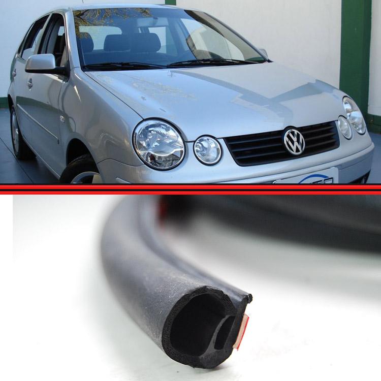 Borracha Porta Polo Hatch Sedan 4 Portas 02 em Diante Fixa na Porta (Colada)  - Amd Auto Peças