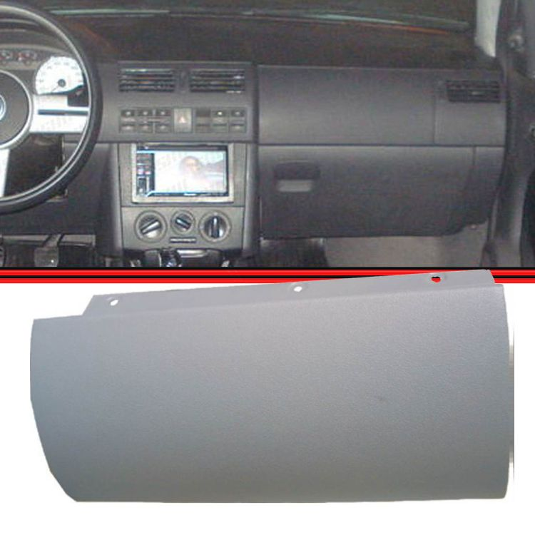 Moldura Painel Tampa Falsa Airbag Gol Parati Saveiro GIII G3 99 a 06 Cinza Flanel  - Amd Auto Peças