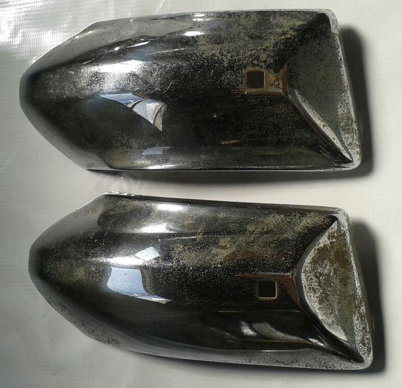 Ponteira Parachoque Opala 74 Dianteira Traseira  - Amd Auto Pe�as
