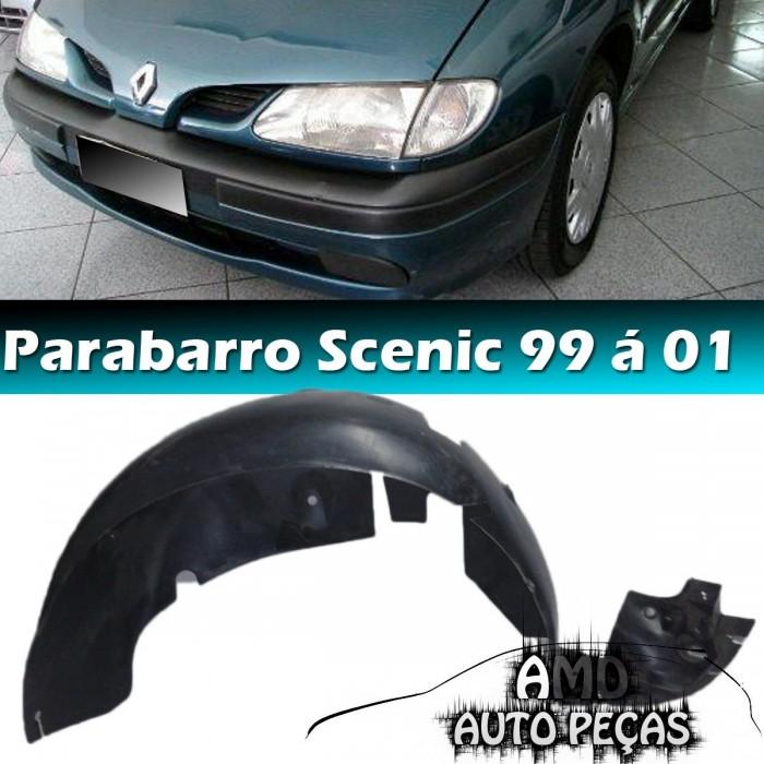Parabarro Renault Scenic 96 á 01 Traseiro Esquerdo  - Amd Auto Peças