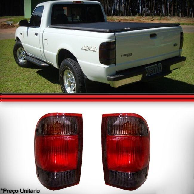 Lanterna Traseira Ranger 98 a 03 Fumê  - Amd Auto Peças