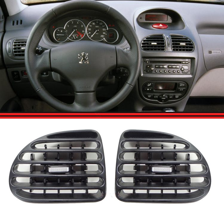 Tela Grade Ar Difusor Painel Central e Lateral Peugeot 206 Todos