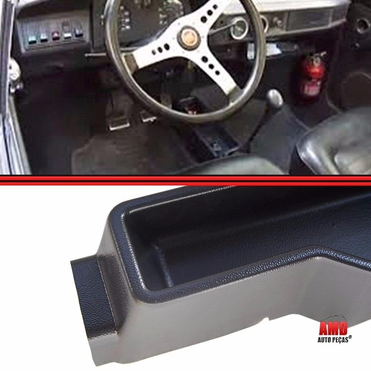 Console Fiat 147 Spazio Oggi Europa Panorama Com Coifa Napa Preto  - Amd Auto Peças
