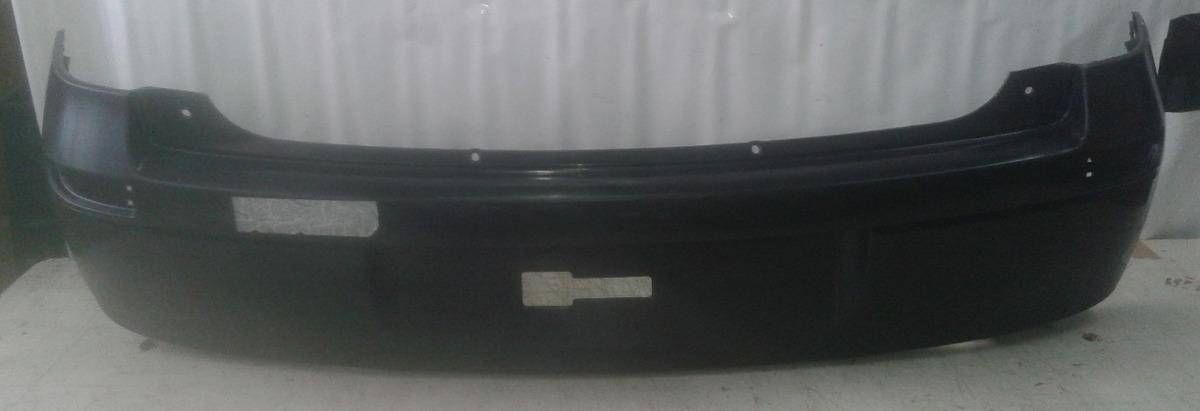 Parachoque Traseiro Corsa Hatch 03 a 12 Preto Liso  - Amd Auto Peças