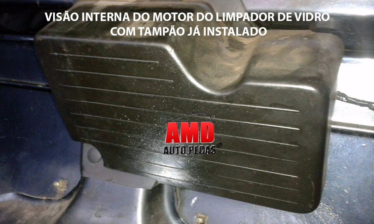 Tampão Bagagito Traseiro Uno Mille Pitbull Uno Way Economy 84 a 13 Plástico Preto Poroso  - Amd Auto Peças