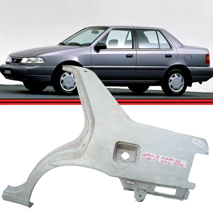 Meia Lateral Hyundai Excel 92 � 95 Traseira  - Amd Auto Pe�as