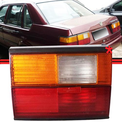 Lanterna Traseira Santana 92 a 98 Tricolor Tampa Original  - Amd Auto Peças