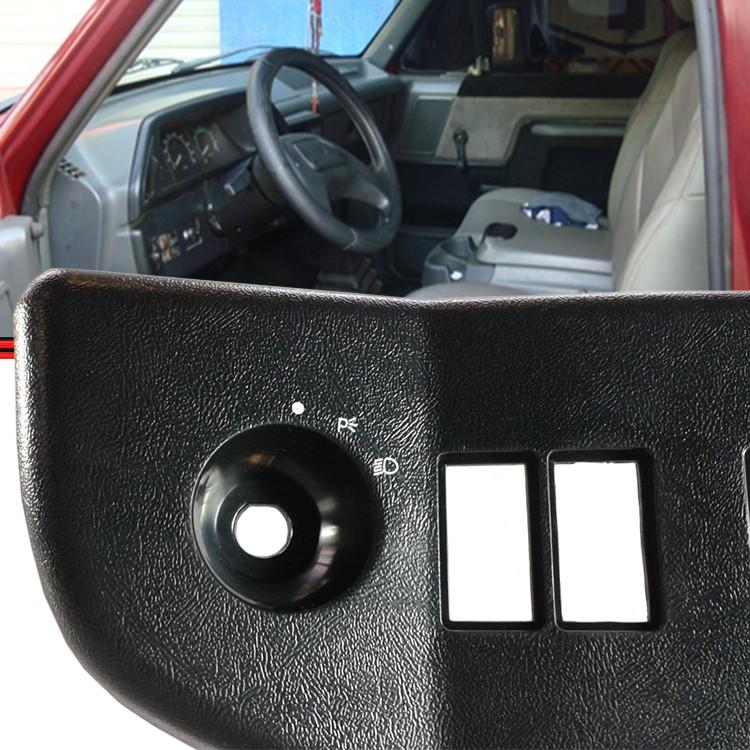 Moldura Inferior Painel Instrumento F1000 F4000 93 a 97 Lado Esquerdo  - Amd Auto Peças