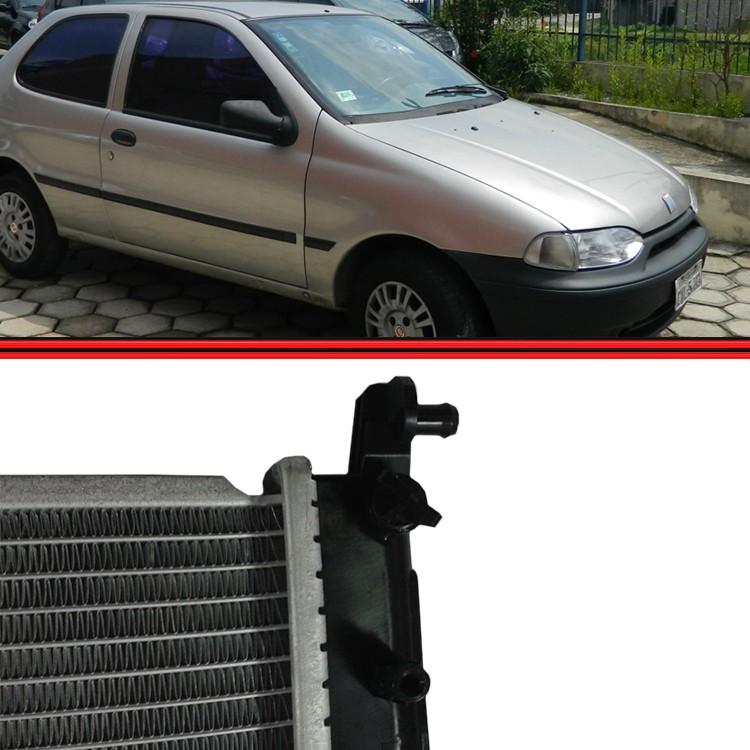 Radiador Palio Siena Strada 99 a 00  - Amd Auto Peças