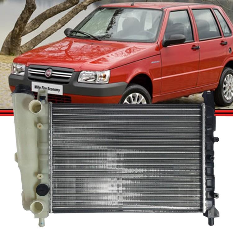 Radiador Uno Mille Fire Fiorino Premio 1.0 Gas  - Amd Auto Peças