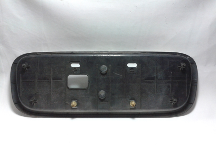 Moldura Suporte de Placa Hyundai Accent 94 a 99  - Amd Auto Peças