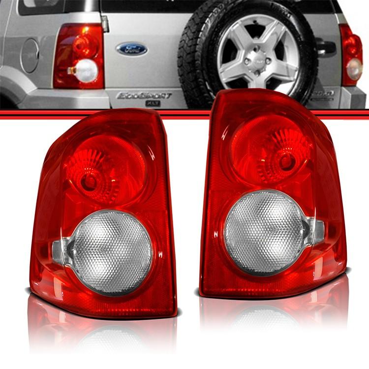 Lanterna Traseira EcoSport 08 a 11  - Amd Auto Peças