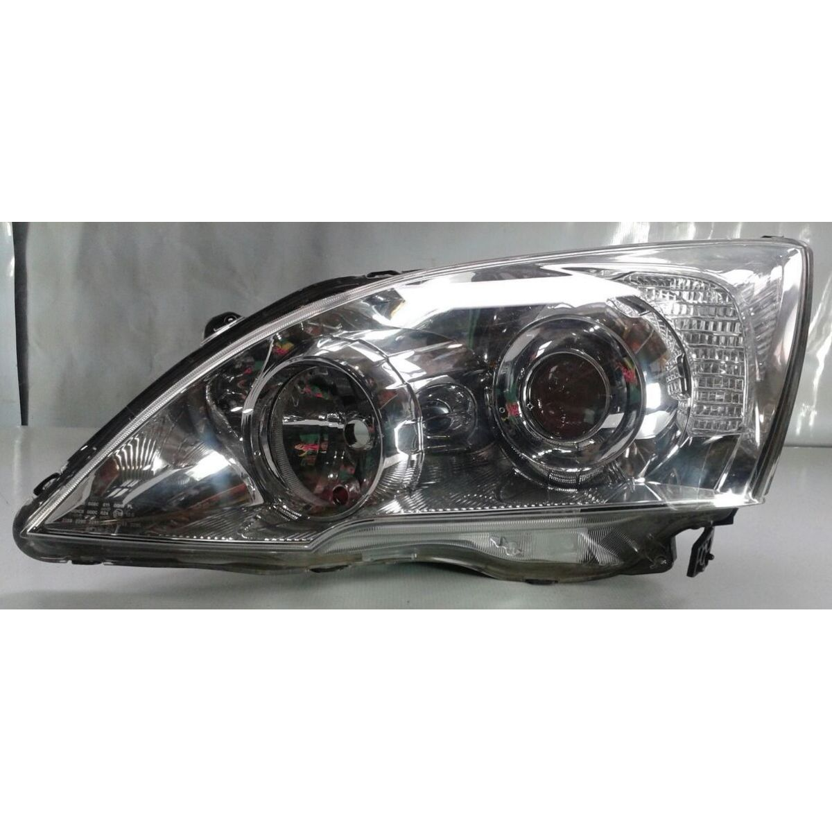 Farol Honda Crv 07 a 09 Mascara Cromada Lado Esquerdo  - Amd Auto Peças