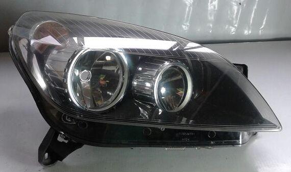 Farol Vectra 06 a 10 Duplo Mascara Negra Lado Direito  - Amd Auto Peças