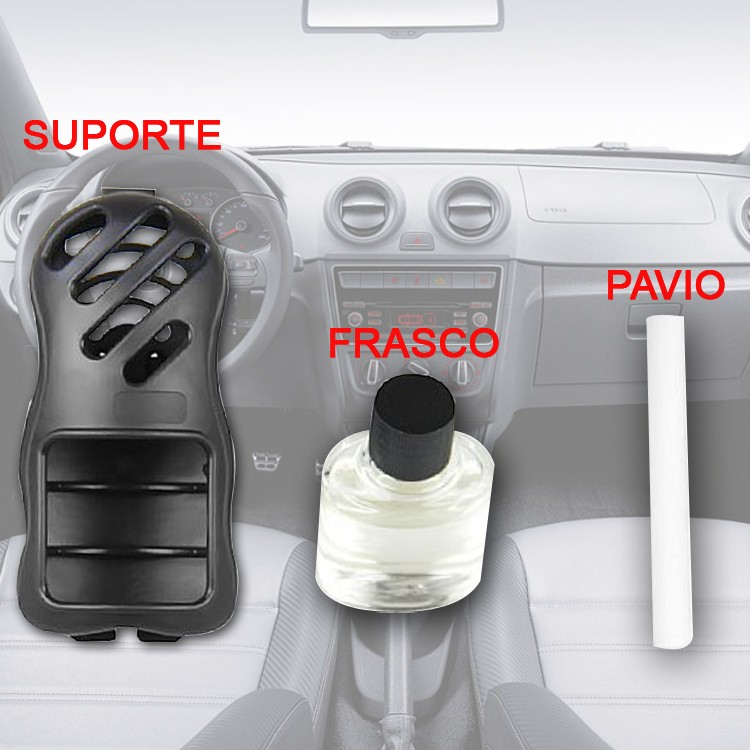 Cheirinho Odorizante Air Carro Automotivo Fantasy 7ml  - Amd Auto Pe�as