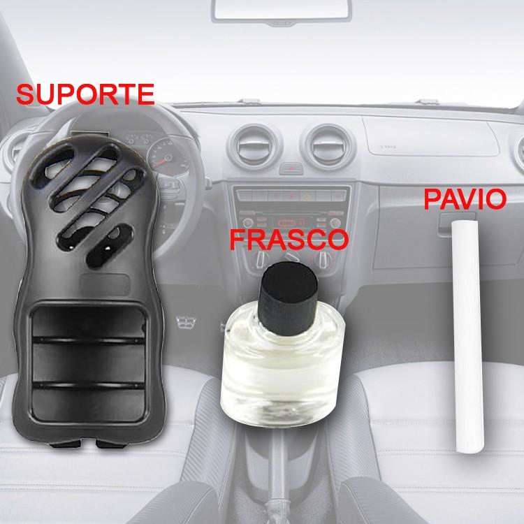 Cheirinho Odorizante Air Carro Automotivo Black 7ml  - Amd Auto Peças