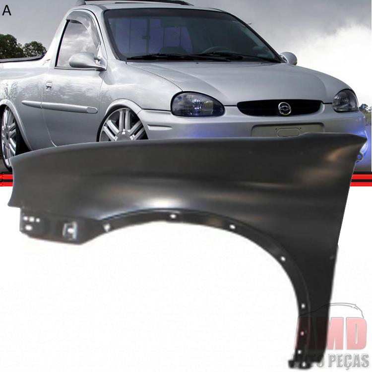 Paralama Dianteiro Corsa Wind Hatch Super Sedan Wagon Pick-up 94 a 10  - Amd Auto Peças