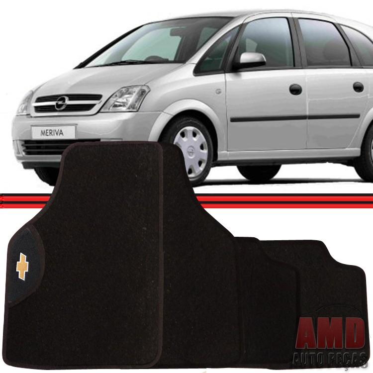 Jogo Tapete Automotivo Carro Astra Meriva Monza D20 C10 D10 Bonanza Gm Chevrolet  - Amd Auto Peças