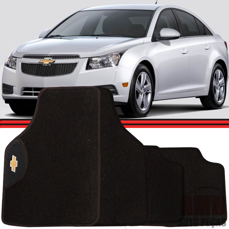 Jogo Tapete Automotivo Carro Kadett Ipanema Captiva Cruze Gm Chevrolet  - Amd Auto Peças