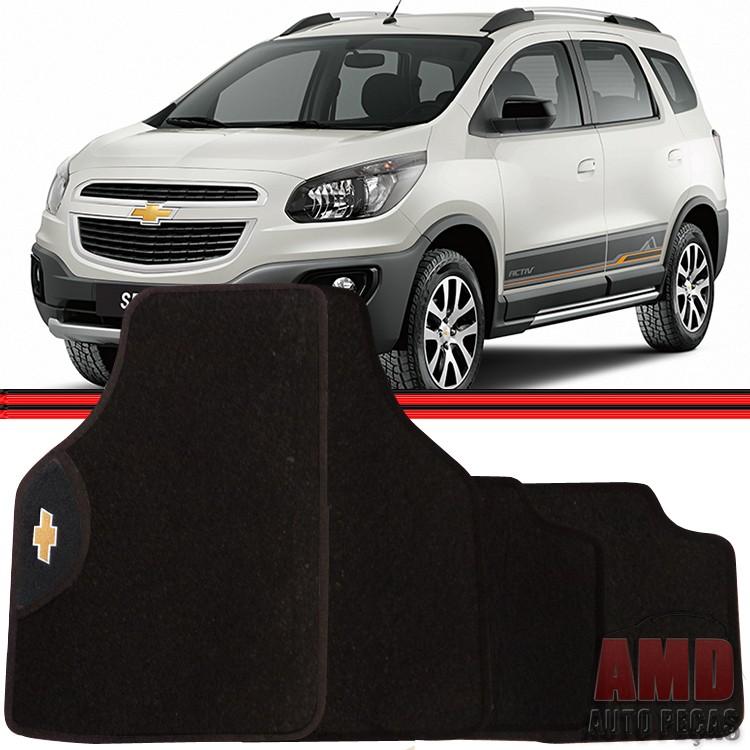 Jogo Tapete Automotivo Carro Tracker Spin Gm Chevrolet  - Amd Auto Pe�as