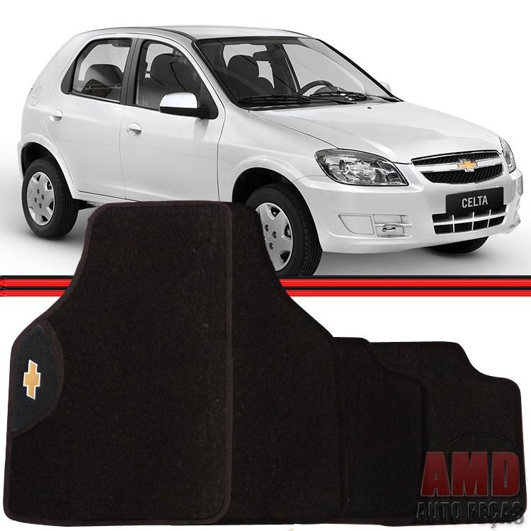 Jogo Tapete Automotivo Carro Agile Celta Cobalt Prisma Gm Chevrolet  - Amd Auto Pe�as