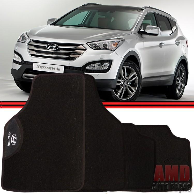 Jogo Tapete Automotivo Carro Tuccson Santa F� Veracruz Hyundai  - Amd Auto Pe�as