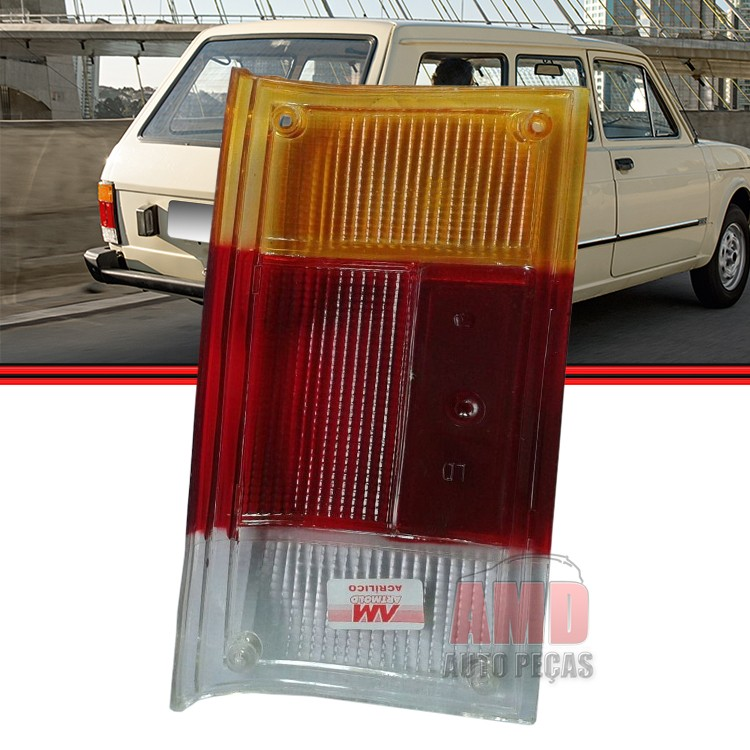 Lente Lanterna Traseira Fiat 147 City Panorama