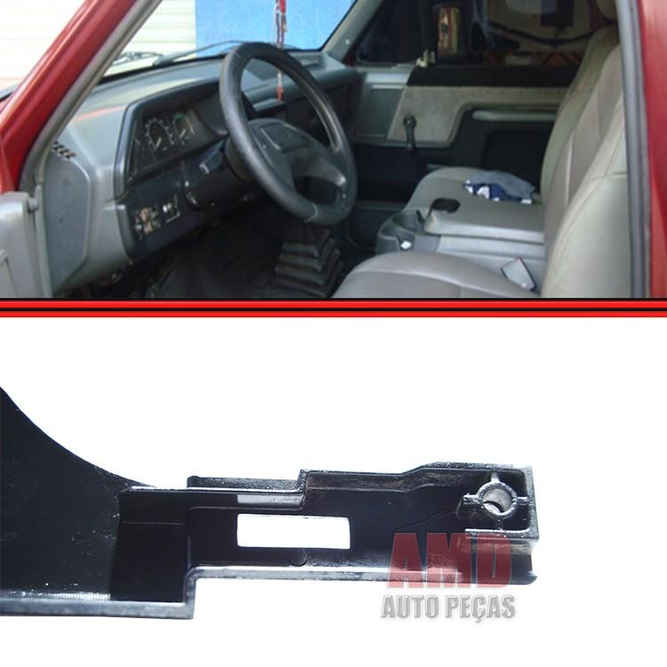 Moldura Inferior Painel Instrumento F1000 F4000 93 a 97 Lado Direito  - Amd Auto Peças