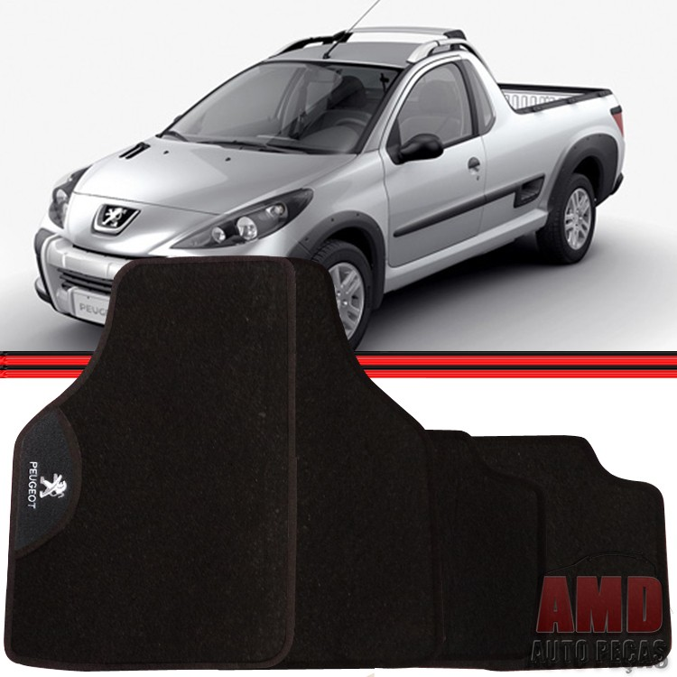 Jogo Tapete Automotivo Carro Peugeot 3008 Hoggar  - Amd Auto Peças
