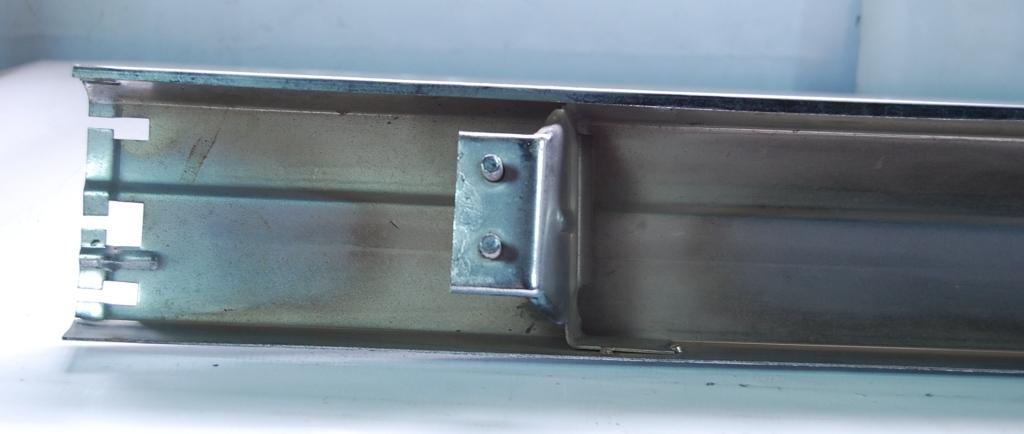 Parachoque Traseiro Escort L GL 84 a 86 Cromado  - Amd Auto Peças