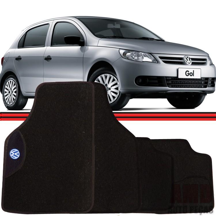Jogo Tapete Automotivo Carro Gol Voyage Parati Saveiro 80 a 10 Volkswagen  - Amd Auto Peças