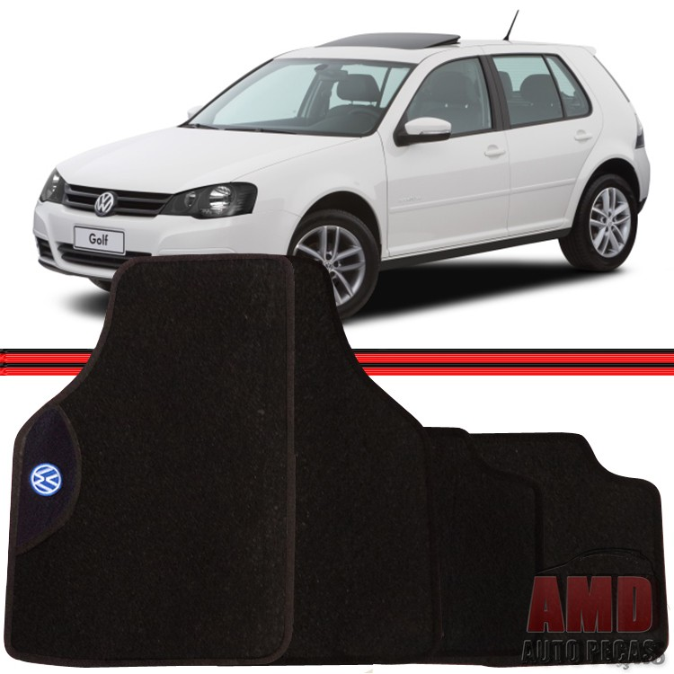 Jogo Tapete Automotivo Carro Amarok Bora Golf Volkswagen  - Amd Auto Peças