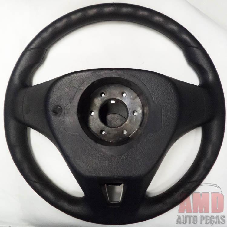 Volante Cruze Celta 01 a 05 Buzina Lateral + Cubo Preto  - Amd Auto Pe�as
