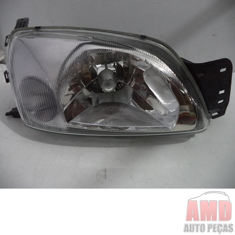 Farol Fiesta 00 A 02 Courier 00 A 10  - Amd Auto Pe�as