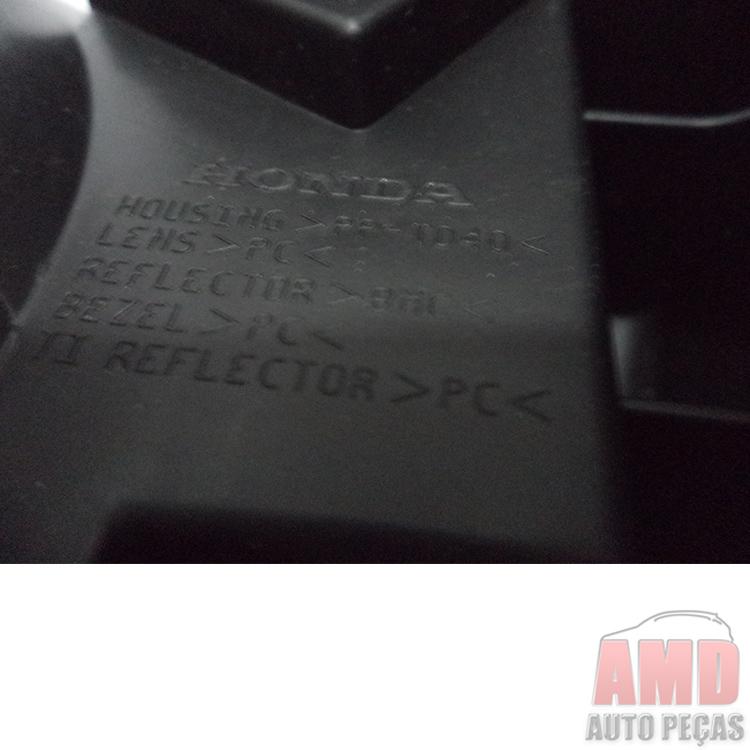 Farol Honda City 09 A 14 Original  - Amd Auto Peças