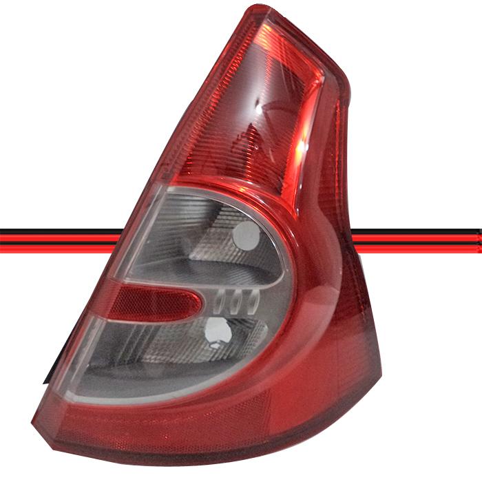 Lanterna Traseira Sandero 09 A 11 Bicolor  - Amd Auto Pe�as