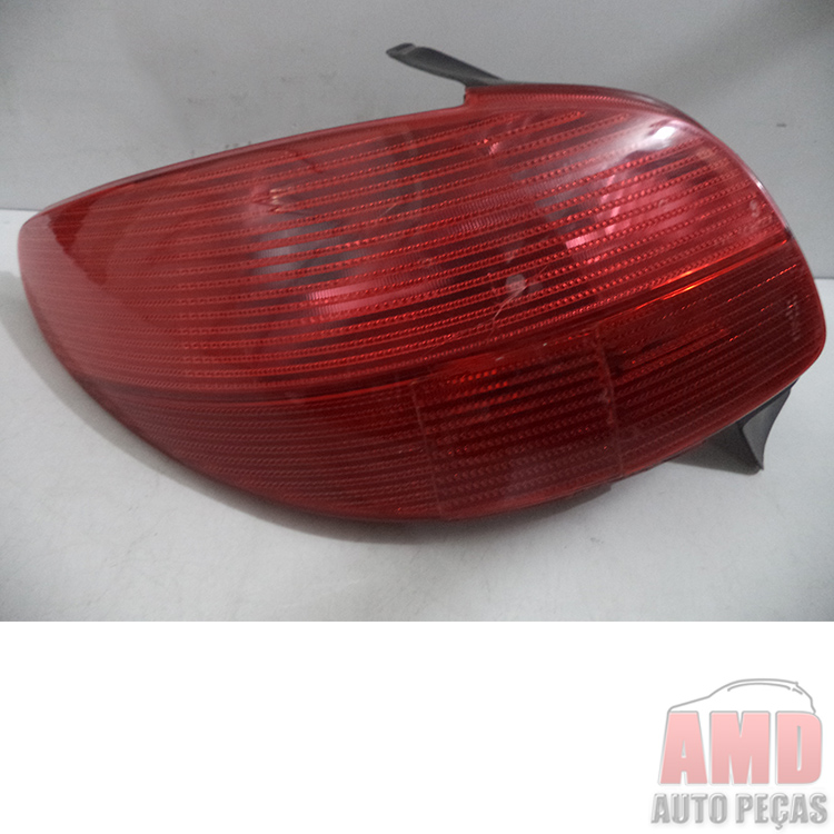 Lanterna Traseira Peugeot 206 98 a 03   - Amd Auto Peças