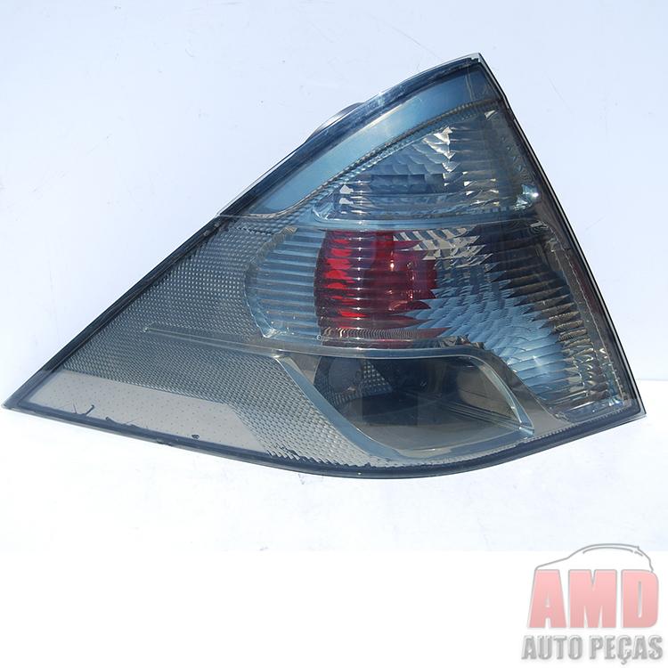 Lanterna Traseira Fiesta Sedan 11 A 13 Fumê  - Amd Auto Peças
