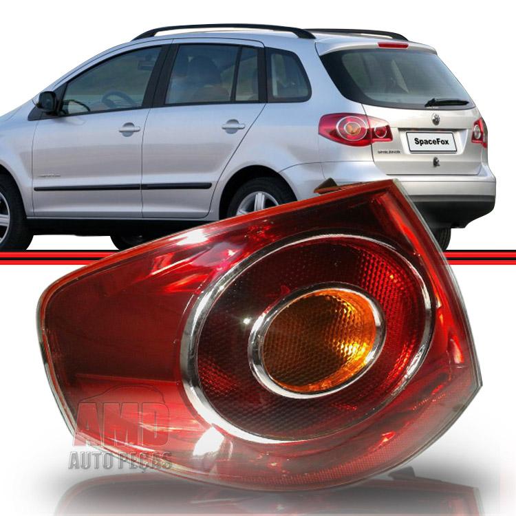 Lanterna Traseira Spacefox 07 a 10 Bicolor  - Amd Auto Peças