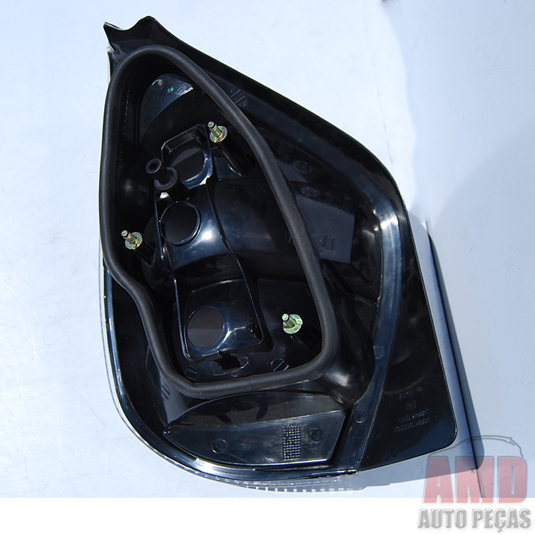 Lanterna Traseira Palio Fire G2 01 A 03 Cromado  - Amd Auto Peças