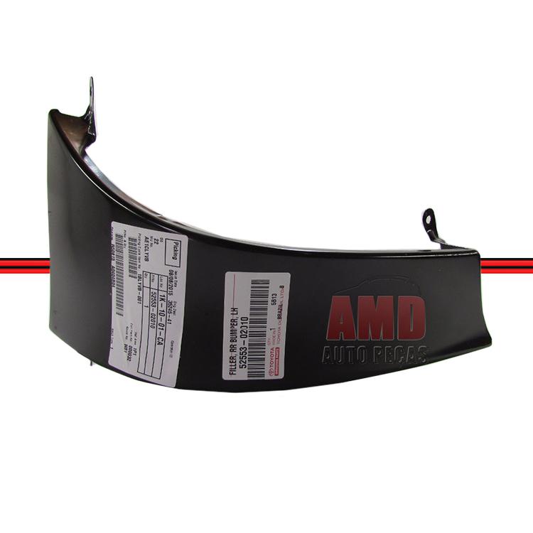 Moldura Inferior Lanterna Traseira Corolla 02 a 07  - Amd Auto Peças
