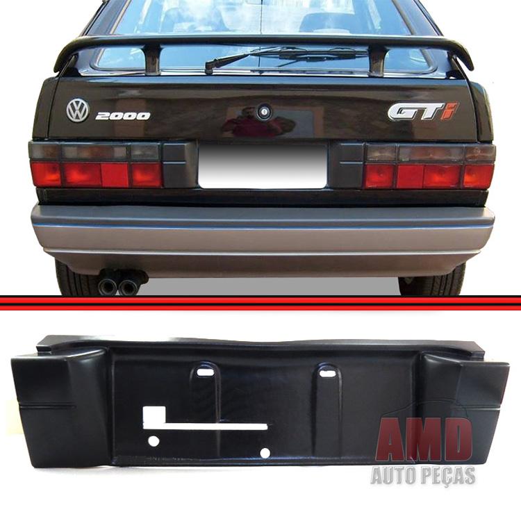 Moldura Placa Traseira Gol GTS GTI 87 a 94  - Amd Auto Peças