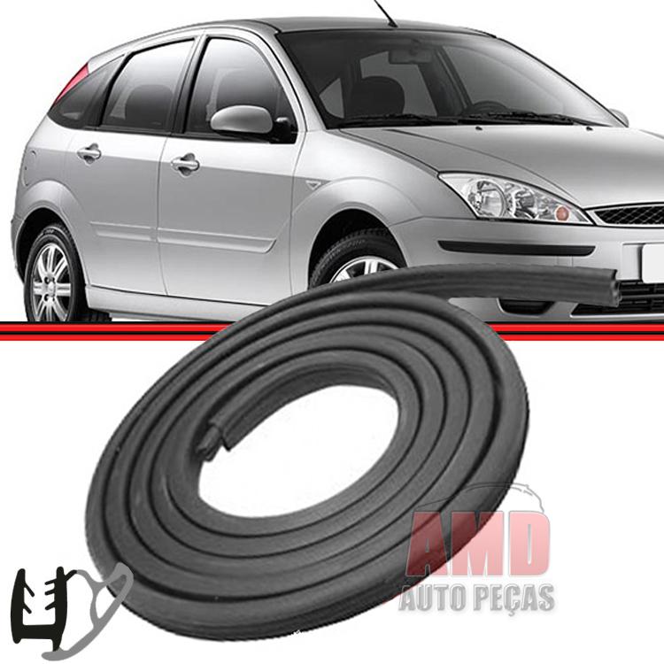 Borracha Porta Focus Sedan Hatch Dianteira ou Traseira 01 a 08 4 Portas