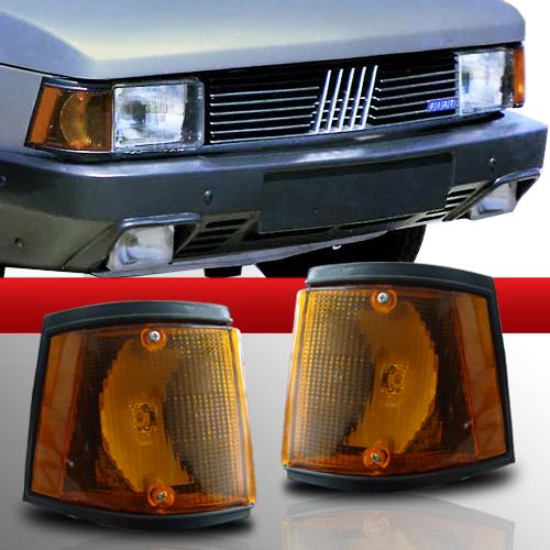 Lanterna Dianteira Fiat 147 Spazio Oggi Panorama 83 a 86 Amarela  - Amd Auto Peças