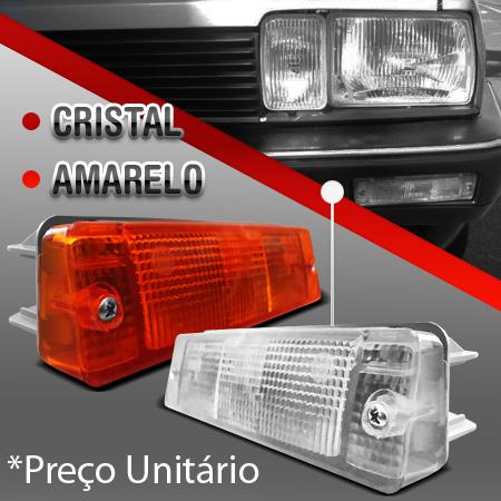 Lanterna parachoque Pisca Santana  gls 85 a 90  - Amd Auto Peças