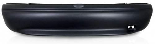 Parachoque Dianteiro E Traseiro Corsa Wind Hatch 94 a 99 + 4 Molduras Preto Poroso  - Amd Auto Pe�as