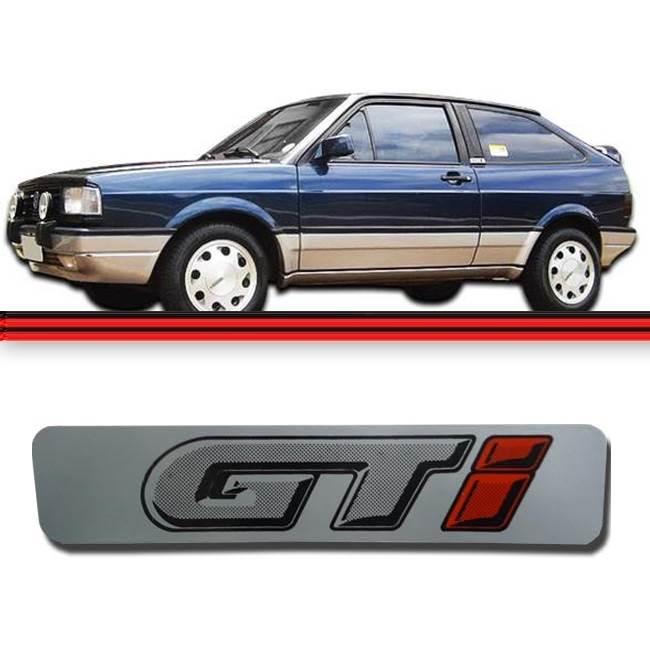 Emblema Porta (COLUNA) Gol Gti  - Amd Auto Peças