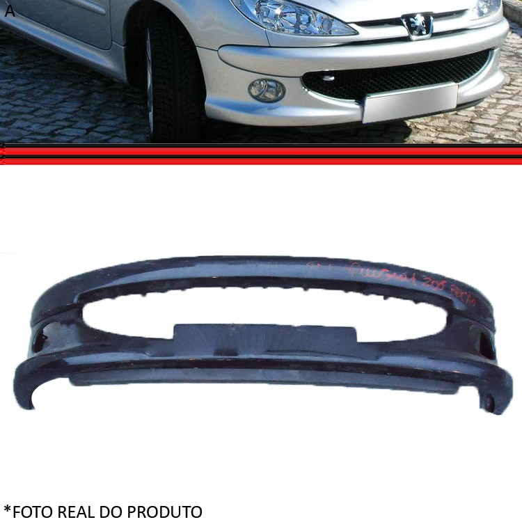 Parachoque Dianteiro Peugeot 206 04 á 09 Bocão Original  - Amd Auto Peças